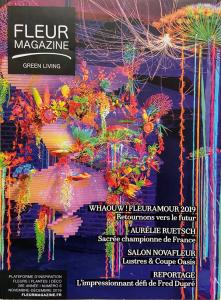fleur magazine, livre Sublimées, Jean-Yves Bardin photographe, création végétale