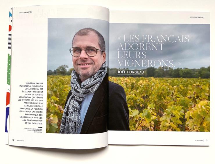 Le Vin Ligérien, Jean-Yves Bardin photographe, Joël Forgeau